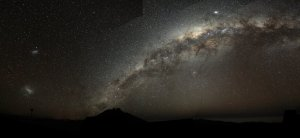 Galactic Geography: Milky Way arch