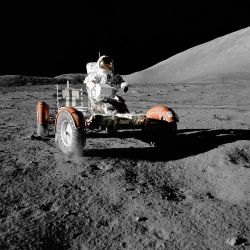 Anti-Science: Apollo 17 Lunar Rover. Will anti-science keep us from going back?