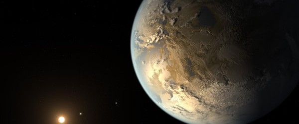 Intelligence: Intelligence to see other worlds, like this illustration of Kepler 186f.