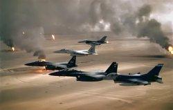 Intelligence: First Gulf War jet fighters. Intelligence gone haywire.