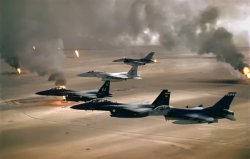 Intelligence: First Gulf War jet fighters. Intelligence gone haywire.